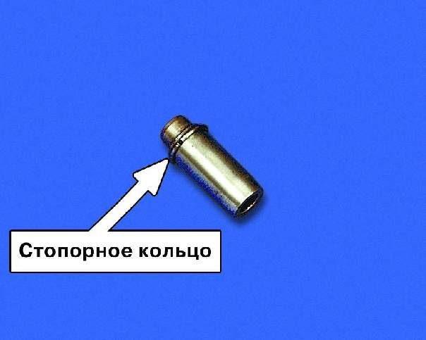 Фото №1 - замена направляющих втулок клапанов ВАЗ 2110